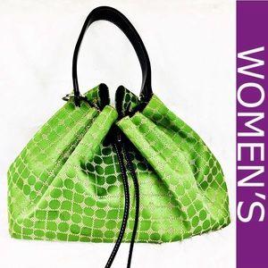 Kate Spade ♠️ Green Noel Maddie Hobo Style Bag